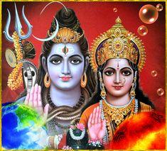 Pradosham is an auspicious time that occurs twice a month both during Shukla Paksha and Krishna Paksha. Pradosham is the very auspicious day to worship Lord Shiva. Shiva Parvati Images, Shiva Hindu, Lakshmi Images, Lakshmi Photos, Krishna Images, Hindu Art, Arte Shiva, Shiva Art, Ganesha Art