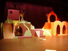 seussical set design ideas | megan miller's theatre arts portfolio