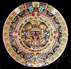 Mexican Art.... Calendario Azteca!