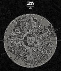 La Estrella de la Muerte de Star Wars