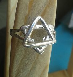 Star of David Sterling Silver Ring Messianic/Christian Any size by StudioPMR on Etsy