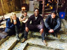Eliza Taylor & Richard Harmon & Isaiah Washington & Bob Morley