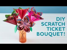 How to Make a Valentine's Day Bouquet with Scratch Tickets | Minnesota Lottery Blog