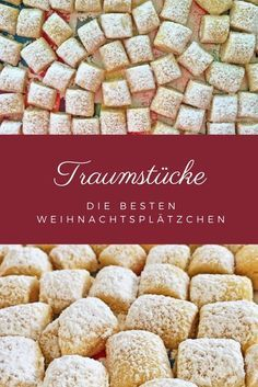 Traumstücke - köstliche Weihnachsplätzchen so easy gemacht - galletas - Las recetas más prácticas y fáciles Easy Cookie Recipes, Cake Recipes, Dessert Recipes, Pumpkin Spice Cupcakes, Food Cakes, Food Blogs, Cookies Et Biscuits, Christmas Cookies, Christmas Tree