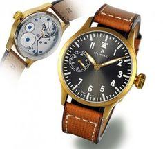 Steinhart Nav B-Uhr 44 handwinding, bronze.. Pilot Watch Steinhart Watches mens luxury watch. steinhart #divers #marine #aviation pilots chronographs @calibrelondon