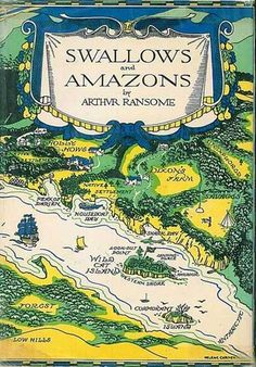 Swallows and Amazons by Arthur Ransome - my favourite childhood reading. I wanted so much to have adventures like the children in the books!