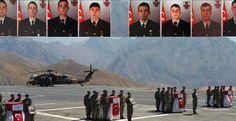 Hakkari'de şehit olan 8 asker bugün Van'da düzenlenen törenle son yolculuğuna…