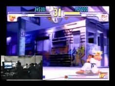 EVO Moment 37  Daigo (Ken) defeats Justin (Chun-Li) with no health left by parrying every hit of Chun-Li's Houyoku-Sen and answering with kicks and Ken's Shippu Jinrai Kyaku!