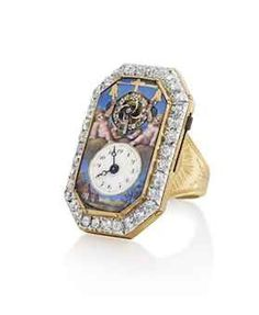 Art and Luxury News in Asia by Sonia Kolesnikov-Jessop Antique Watches, Antique Clocks, Vintage Watches, Ring Watch, Bracelet Watch, Unusual Clocks, Instruments, Telling Time, Unique Rings