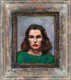 "Walt Kuhn, ""Lily Cushing"", 1942"