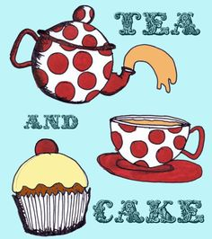 Tea and Cake...with the vicar? or....death? (eddie izzard)