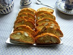 Una pincelada en la cocina: carquiñolis de almendra