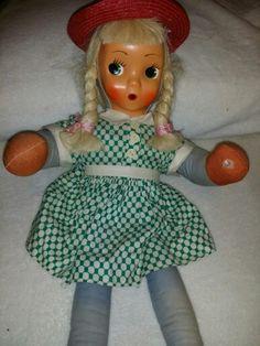 Straw filled Polish Doll