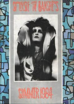 Siouxsie and the Banshees 1984 tour programme.