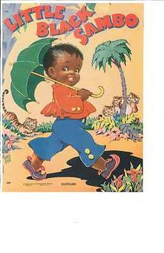 VINTAGE 1942 Little Black Sambo Story