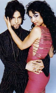 Prince & Mayte●■●I believe that this is one of, if not the best captures of this beautiful couple ■ □ ■ □