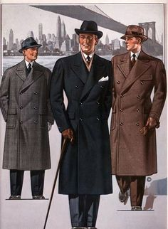 Detailed 1940s men's fashion history for the everyday man. Description from pinterest.com. I searched for this on bing.com/images