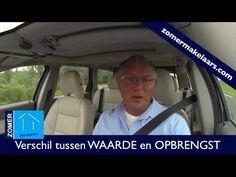 http://www.zomermakelaars.com In deze video leg ik het verschil uit tussen WAARDE en OPBRENGST. Kijk voor meer video's op http://www.zomermakelaars.com