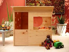 Modern Playhouse  the boo and the boy: outdoor #kids' spaces