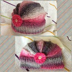 "A Bobbin Lace Lover: Gorro ""Mandarina"" o de ""vueltas acortadas"" Knitted Hats, Knitting, Baby, Ideas, Fashion, Girls, Tela, Knitted Beanies, Wool Hats"