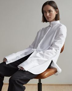 WEBSTA @toteme Palencia shirt. Available at toteme-studio.com