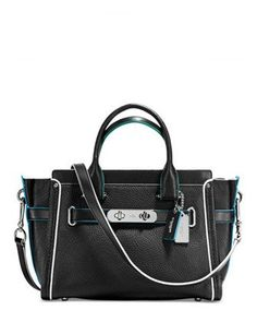 e16281fe06501 Coach Swagger 27 in Edgestain Leather