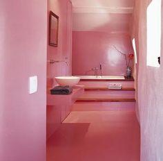Pink interior livingroom bedroom bathroom kitchen