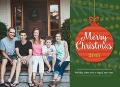 Christmas Ornament 2015 by CPaperie for Snapfish