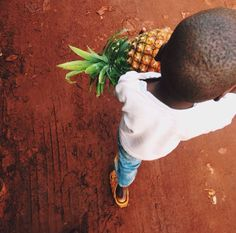 We never stop walking, even when blessed with massive fruit.