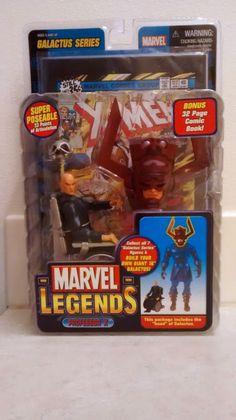New 2005 Marvel ToyBiz Galactus Series Marvel Legends Professor X Action Figure Series Marvel, Marvel Legends, Professor, Action Figures, Comic Books, Comics, Teacher, Cartoons, Cartoons