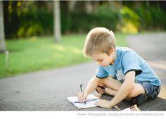 Fun Back to School Photo Ideas - photo by Savor Photography via iHeartFaces.com