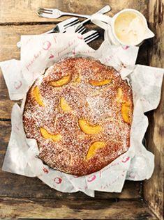 // peach cake