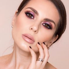 """2,652 Likes, 52 Comments - Andreea Ali (@aliandreeamakeup) on Instagram: """"I used to hate the violet eyeshadow for years!! I think I just got sick of it after over using it…"""""""