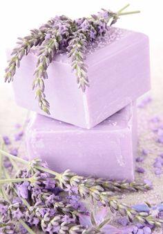 Lavender: #Lavender soap.