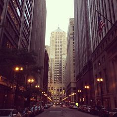 Downtown Chicago. love it there <3