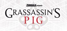 Grassassin's Pig: a Lucca Comis & Games l'Assassino in cappa bianca in versione suina