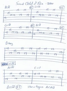 Sweet Child of Mine (Guns and Roses) Intro Guitar Tab and Chorus Riff Guitar Tabs And Chords, Guitar Tabs Songs, Music Tabs, Cello Music, Music Chords, Guitar Sheet Music, Guitar Chord Chart, Guitar Tabs For Beginners, Sweet Child O' Mine