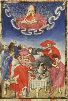 « L'Epistre Othea la deesse, que elle envoya à Hector de Troye, quant il estoit en l'aage de quinze ans » [par CHRISTINE DE PISAN]. Auteur : Christine de Pisan (1363?-1431?).