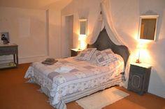 Une des chambres d'hôtes à vendre à Marsanne dans la Drôme