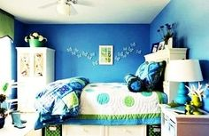 themed bedrooms for teenage girls | Room Design for Teenage Girls