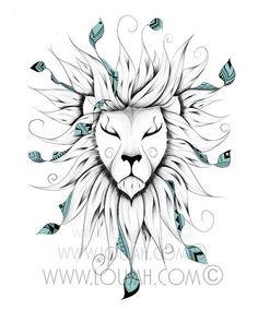 art , illustration , draw, drawing , doodle , boho , bohochic , bohostyle , bohemian , gypsy , gypsies , hippy , hippies , indie , cute , animal , animals , wild , wilflie , lion , fox , wolf , totoro , feather , feathers , tattoo , tattoos