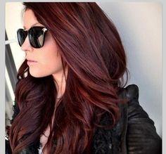 Black and brown hair