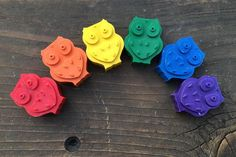 Owl PARTY FAVORS Crayon Sets // Crayon Goodie Bag // Owl Birthday Party…