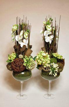 Laboratorium Bez Wody: Galeria prac Flower Vases, Flower Arrangements, Deco Floral, Art Floral, Dish Garden, Fairy Houses, Bottle Art, Ikebana, Terrarium