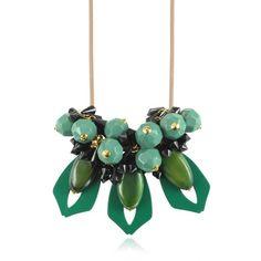 Marni Emerald Resin Necklace