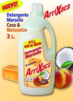 DETERGENTE ARRIXACA COCO 3 L 36 LAVADOS [80665] : Coviran Obdulia, Tu supermercado online