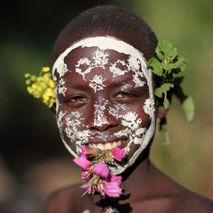 Ethiopian Tribes, Suri - girl - Dietmar Temps