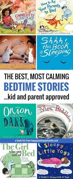 The problem with most picture books as bedtime stories? They increase your kid\'s energy instead of slowing them down for sleep. Add these kids\' books to your nightly bedtime routine when you need your energetic kid to calm down so they can actually fall asleep. Best ever list of bedtime story books! #picturebooks #kidsbooks #kidlit #BedtimeStories