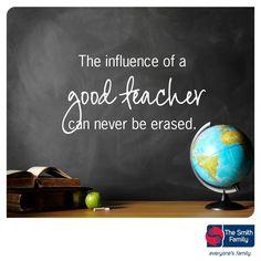 Good teachers.