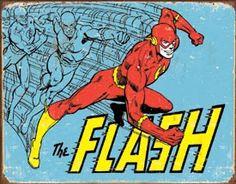 The Flash Vtg Retro metal poster TIN SIGN dc comics superhero wall decor 1959 Flash Gordon, Comics Vintage, Vintage Posters, Vintage Flash, Retro Vintage, The Flash, Flash Comics, Vintage Tin Signs, The Lone Ranger